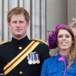 ヘンリー王子と、ベアトリス王女