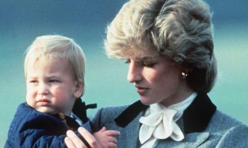 故ダイアナ元妃とウィリアム王子(1983年)
