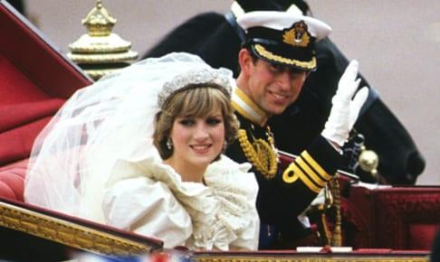 ダイアナ元妃と、チャールズ皇太子(1981年)
