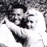 フランク・シナトラと、マリリン・モンロー(1962年)