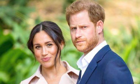 メーガン妃と、ヘンリー王子