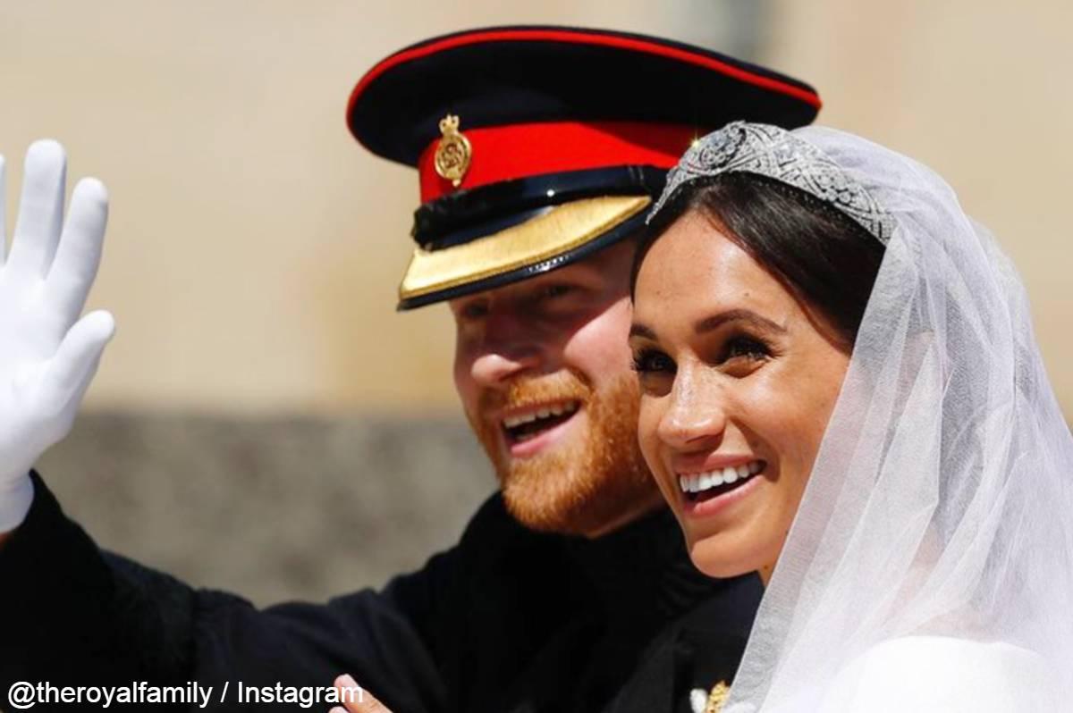 ヘンリー王子と、メーガン妃