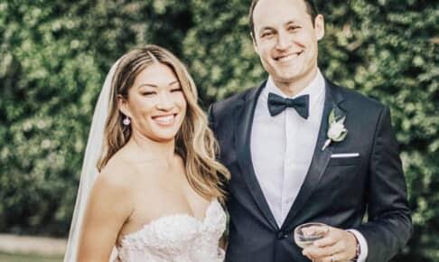 結婚したジェナ・アウシュコウィッツ(左)とデヴィッド・スタンレー