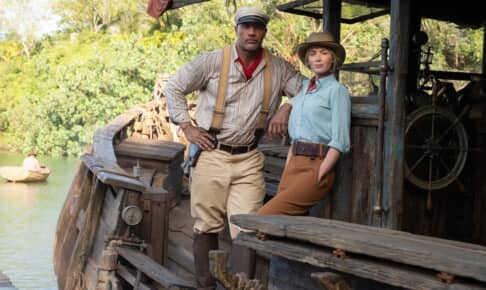 『ジャングル・クルーズ』ドウェイン・ジョンソン&エミリー・ブラント