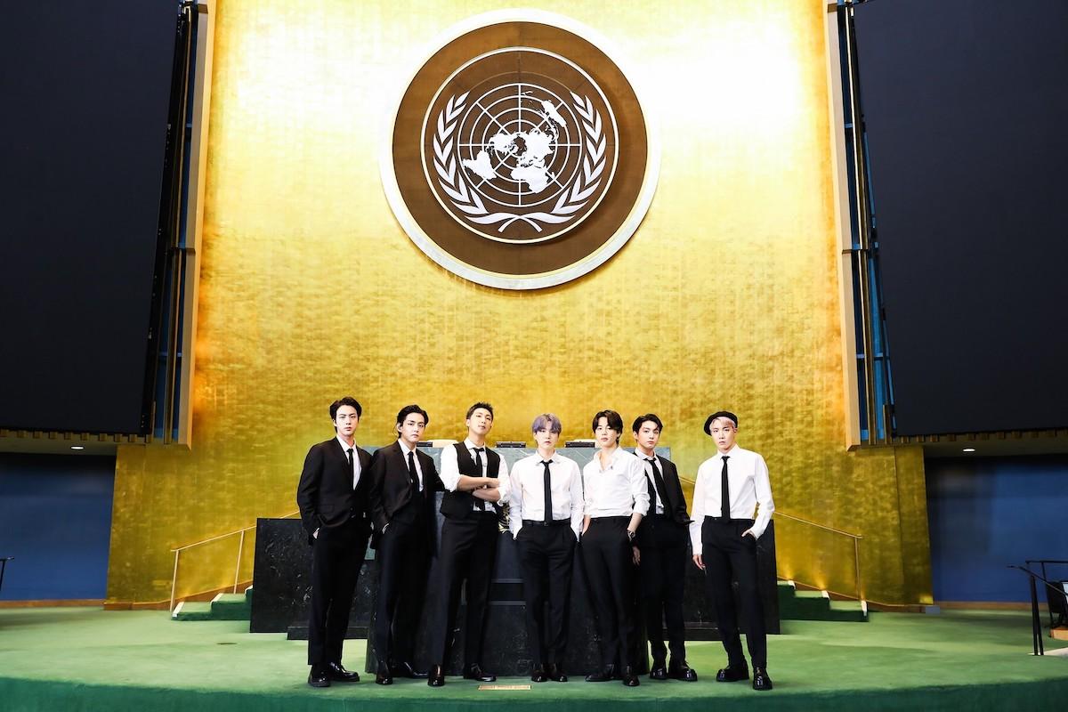 BTS UN Photo by BIGHIT MUSIC
