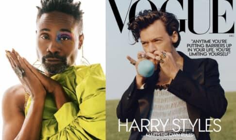 ビリー・ポーター、ハリー・スタイルズが表紙を飾った「Vogue」